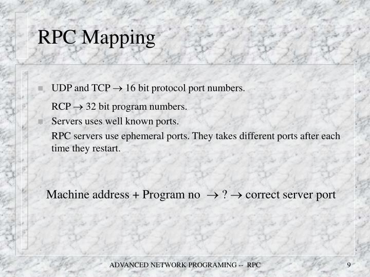 RPC Mapping