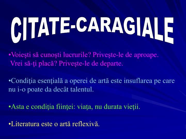 CITATE-CARAGIALE