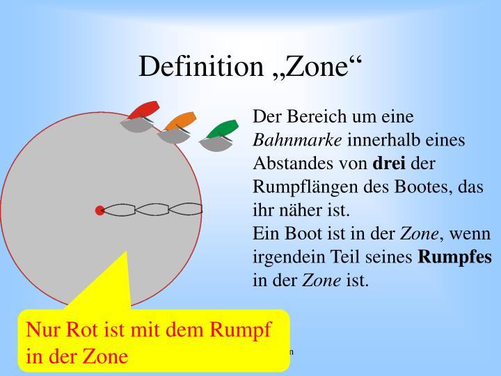 "Definition ""Zone"""