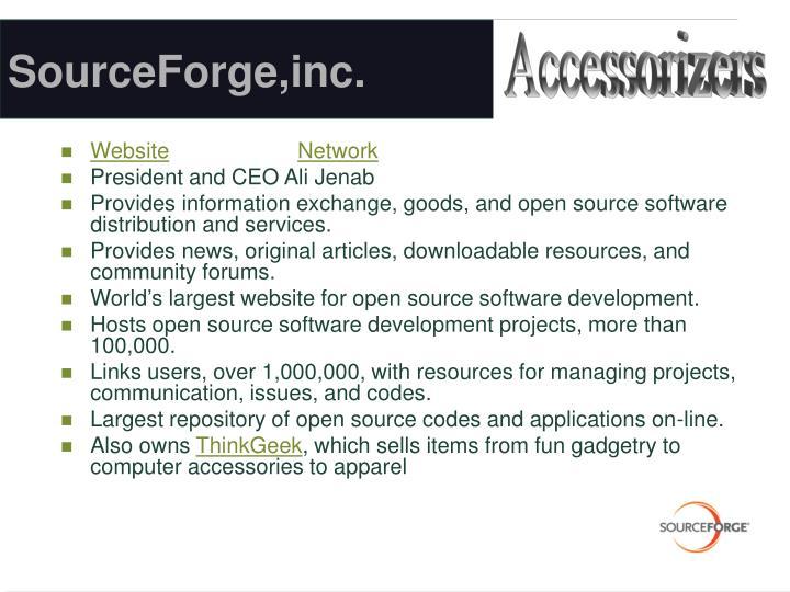 SourceForge,inc.