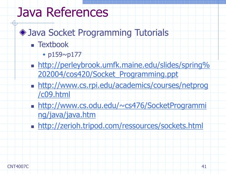 Java References