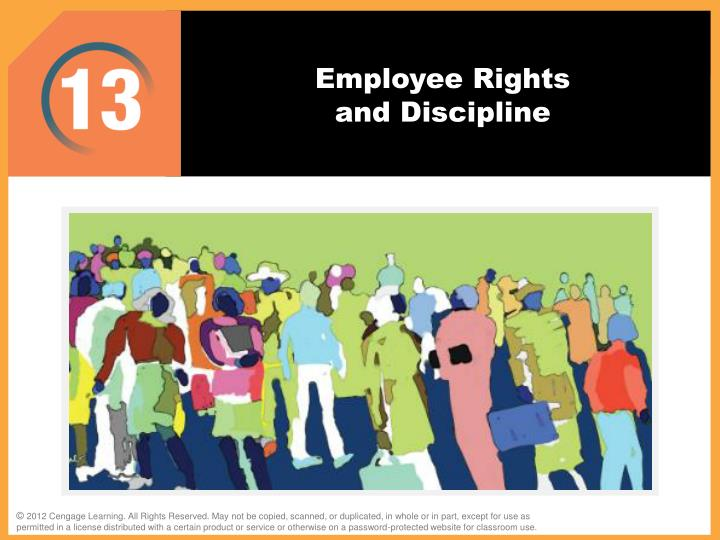 employee rights and discipline n.