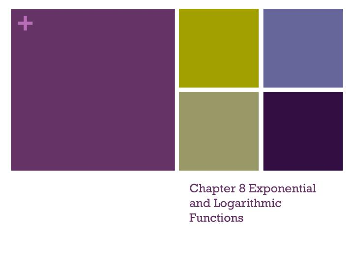 chapter 8 exponential and logarithmic functions n.