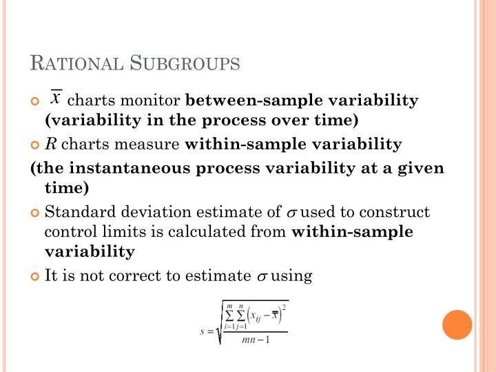 Rational Subgroups