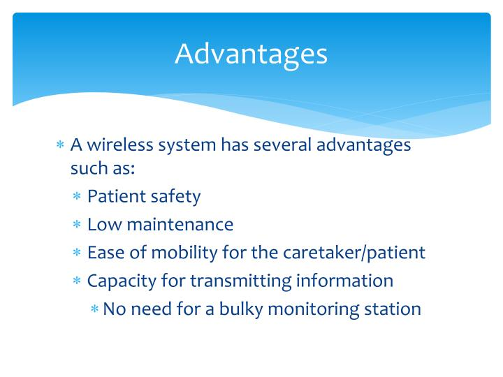 Advantages Of Internet Monitor System : Ppt wireless patient monitoring system powerpoint