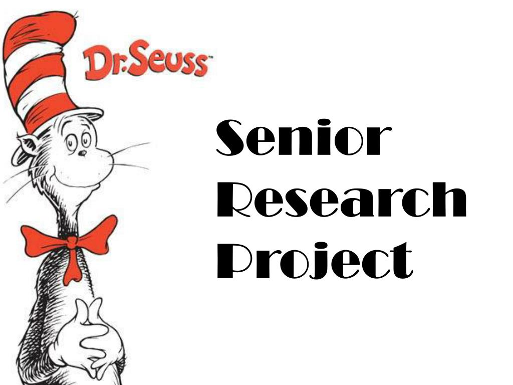 ppt senior research project powerpoint presentation id 4207440