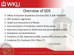 overview of sds