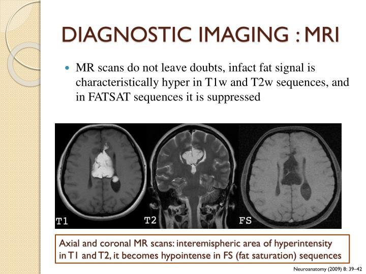 DIAGNOSTIC IMAGING : MRI