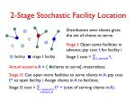2 stage stochastic facility location1