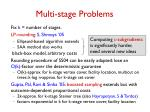 multi stage problems1