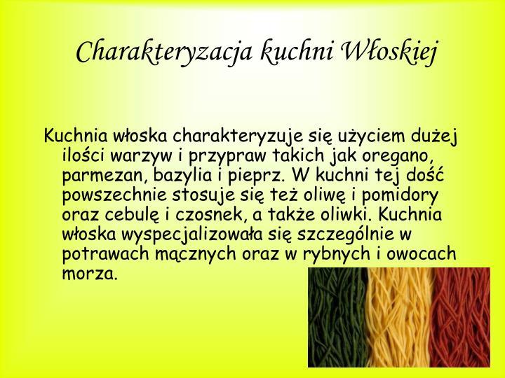 Ppt Kuchnia Wloska Powerpoint Presentation Id 4207858