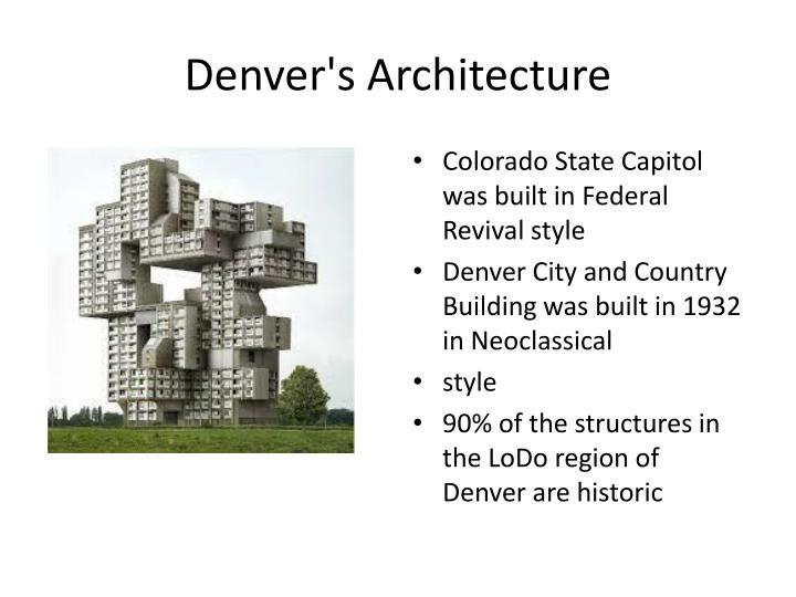 Denver's Architecture