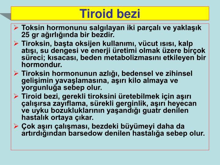 Tiroid bezi