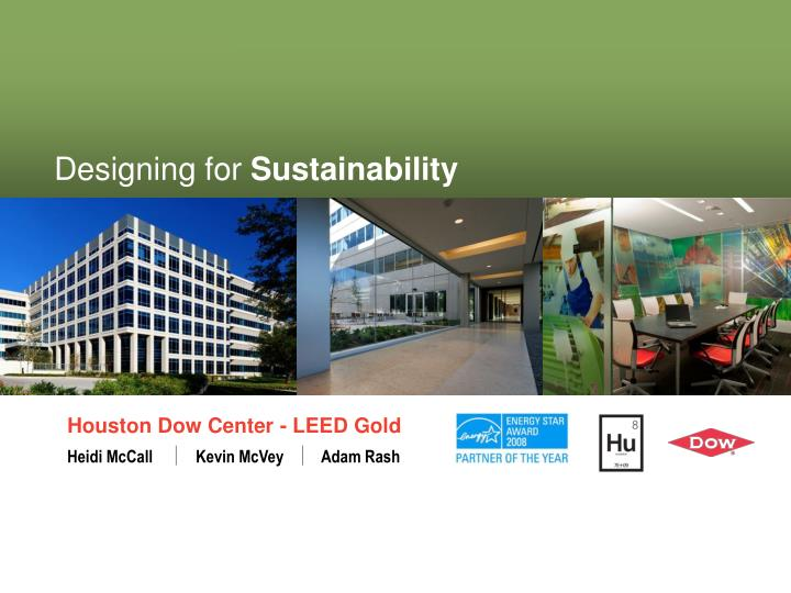 designing for sustainability n.