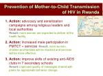prevention of mother to child transmission of hiv in rwanda2