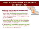 safe cities for women in guatemala and el salvador1