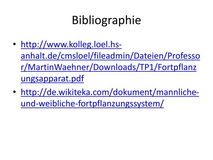 PPT - FORTPFLANZUNGSSYSTEM PowerPoint Presentation - ID:4208749