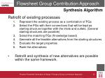 flowsheet group contribution approach5