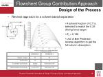 flowsheet group contribution approach8