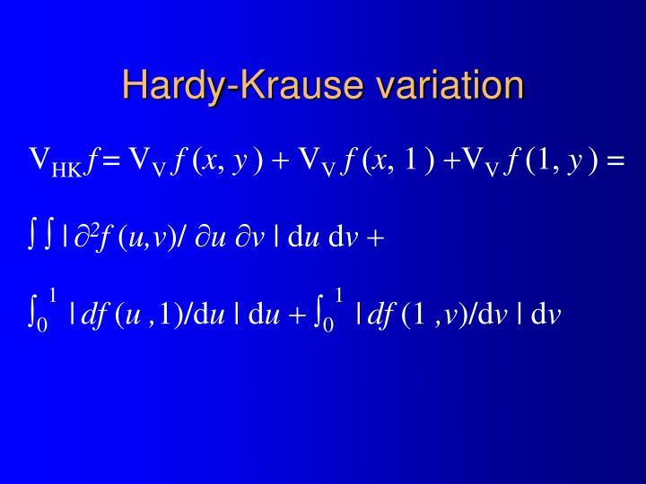 Hardy-Krause variation