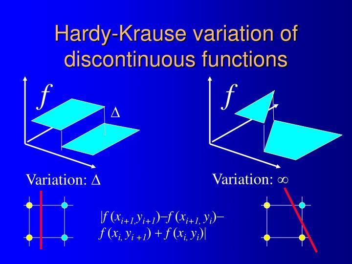 Hardy-Krause variation of