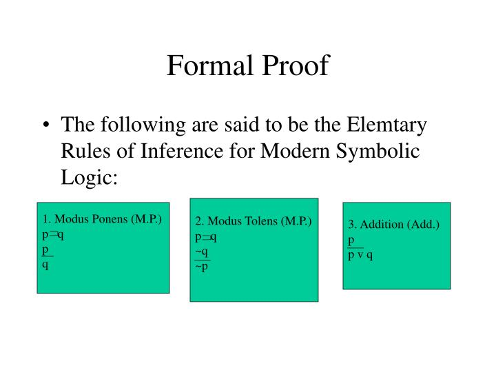 Ppt Introduction To Symbolic Logic Powerpoint Presentation Id