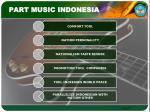 part music indonesia