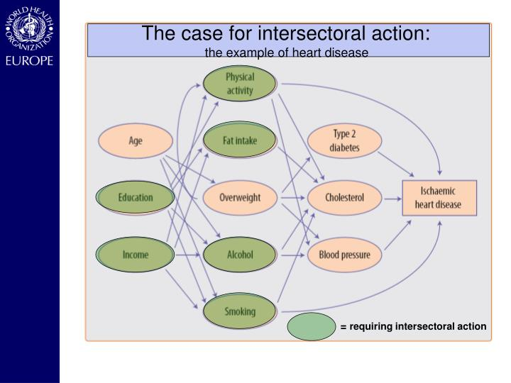 The case for intersectoral action: