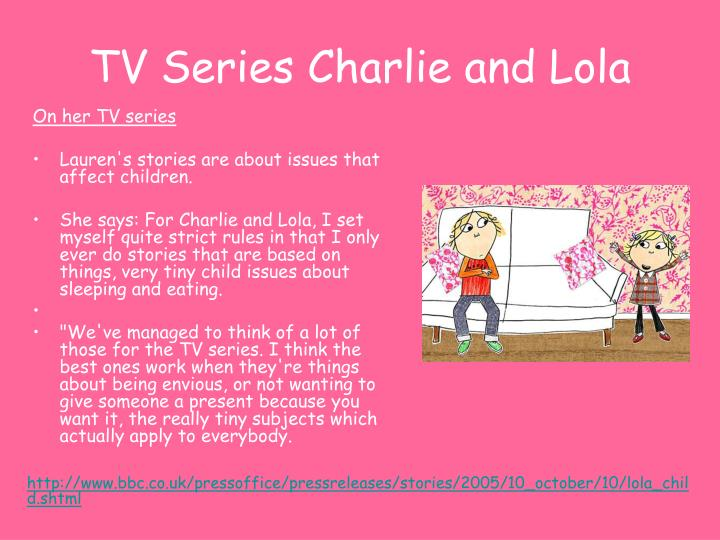 TV Series Charlie and Lola