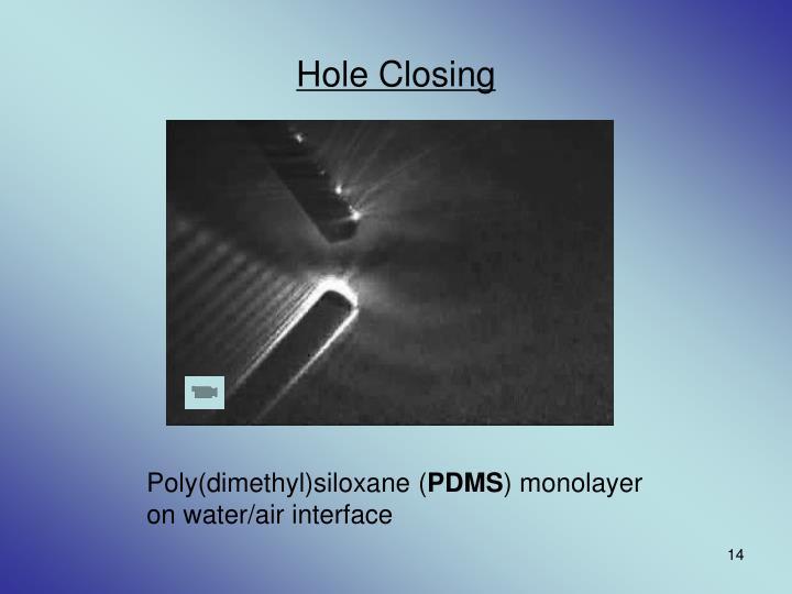 Hole Closing