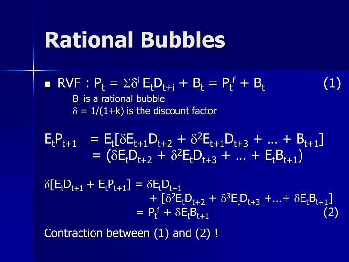 Rational Bubbles
