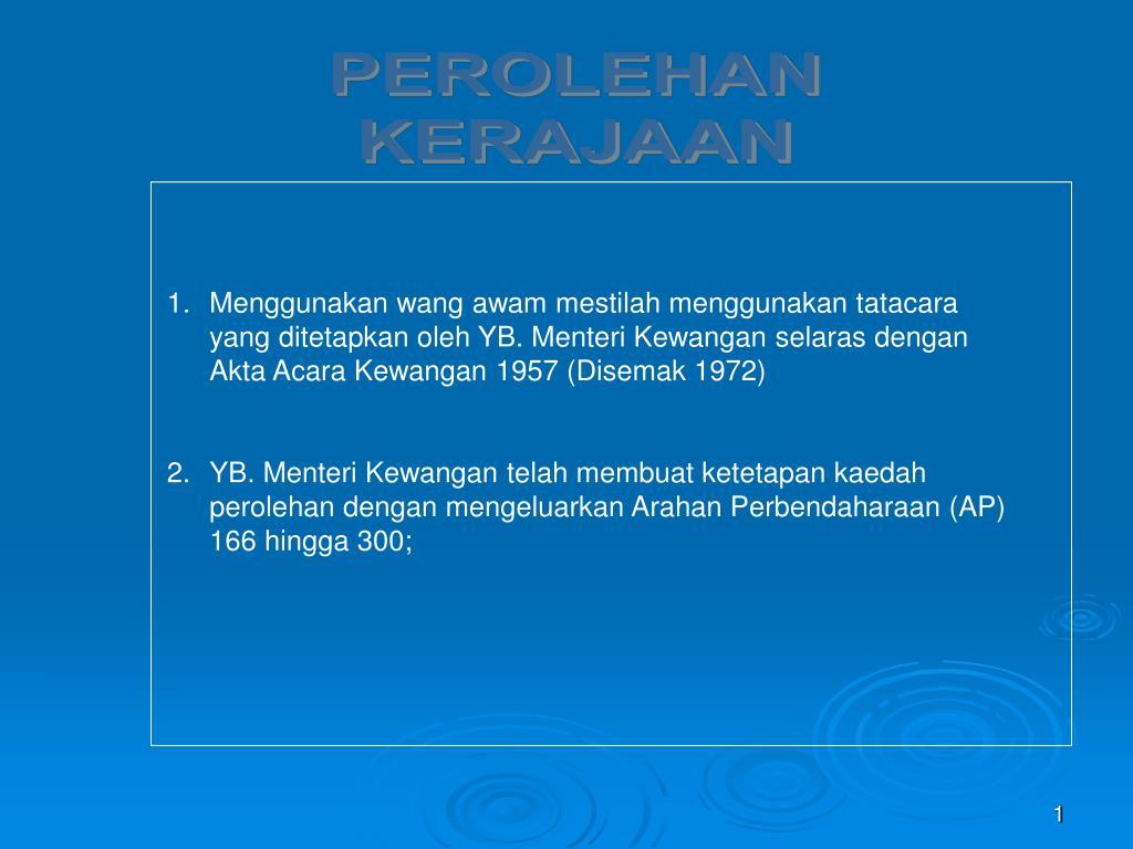 Ppt Perolehan Kerajaan Powerpoint Presentation Free Download Id 4211045