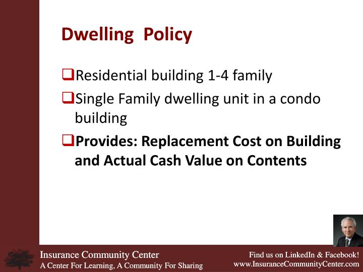 Dwelling  Policy