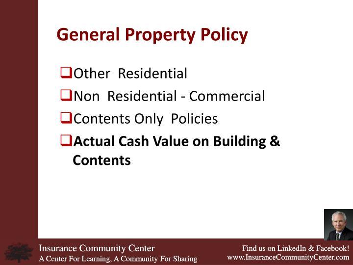 General Property Policy