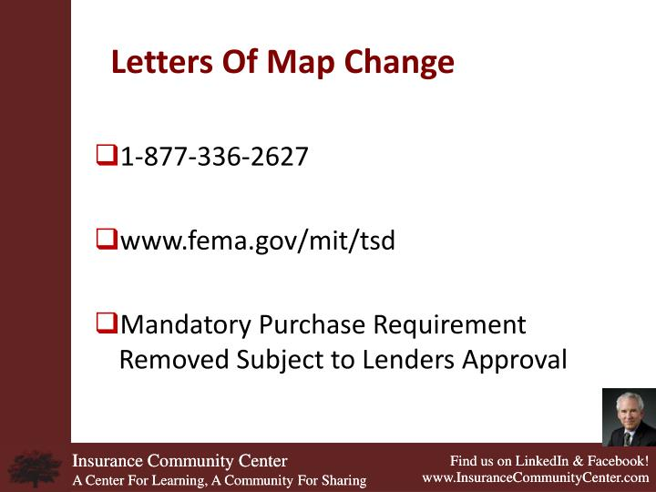 Letters Of Map Change