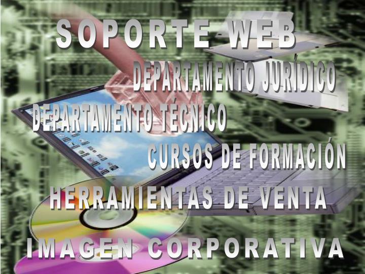 SOPORTE WEB