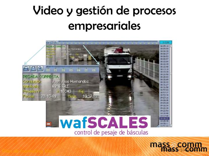 Video y gestión de procesos empresariales