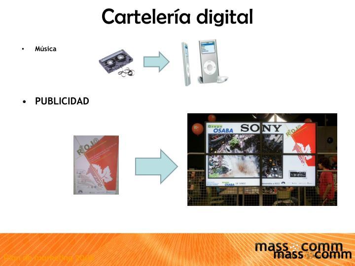 Cartelería digital