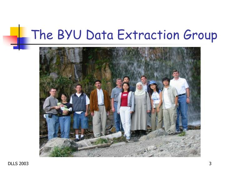 The byu data extraction group1