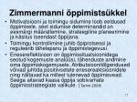 zimmermanni ppimists kkel
