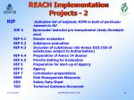 reach implementation projects 2