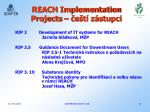 reach implementation projects e t z stupci