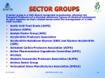 sector groups