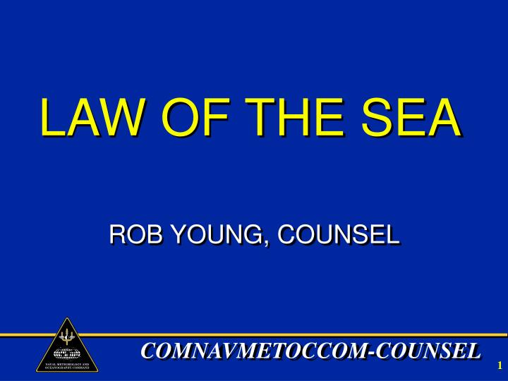 law of the sea n.