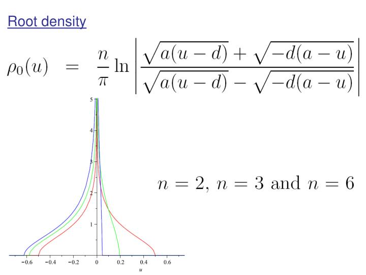 Root density
