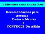 iv diretrizes asma gina 2006