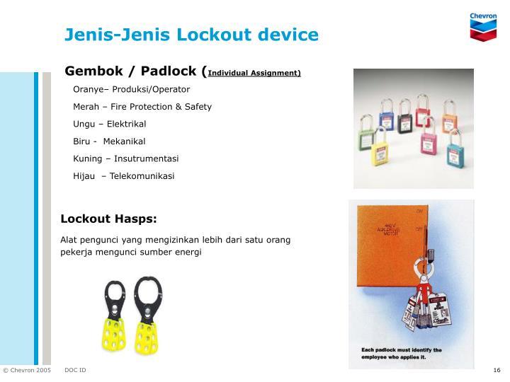 Gembok / Padlock (