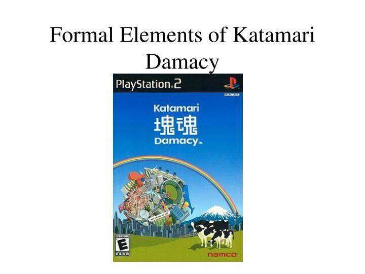 Formal elements of katamari damacy