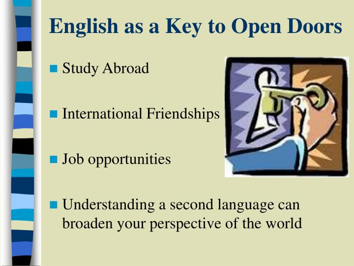 importance of english as a global Global importance of english language plays and important role in human life english is added as a compulsory subject in o level examination and in a level examination in sl sri lankan universities are conducting almost all the studies through english medium.