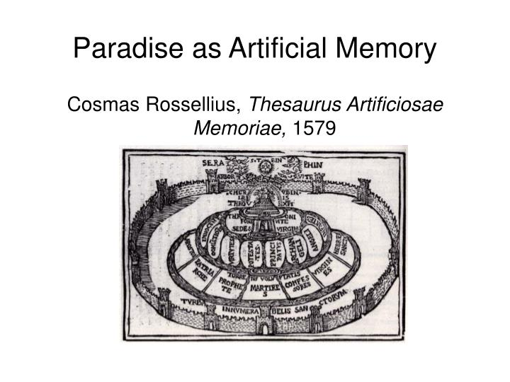 Paradise as Artificial Memory